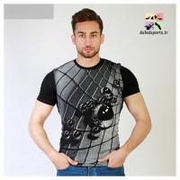 تی شرت سه بعدی مردانه مدل  Pyramid