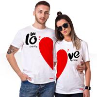 ست تی شرت زن و شوهر طرح love