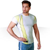 تی شرت مردانه طرح دار zip