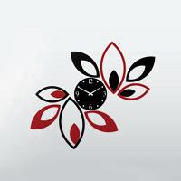 ساعت دیواری طرح جدید مدل گلبرگ