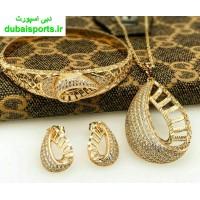 نیم ست طرح طلا (دستبند ) آبکاری طلا